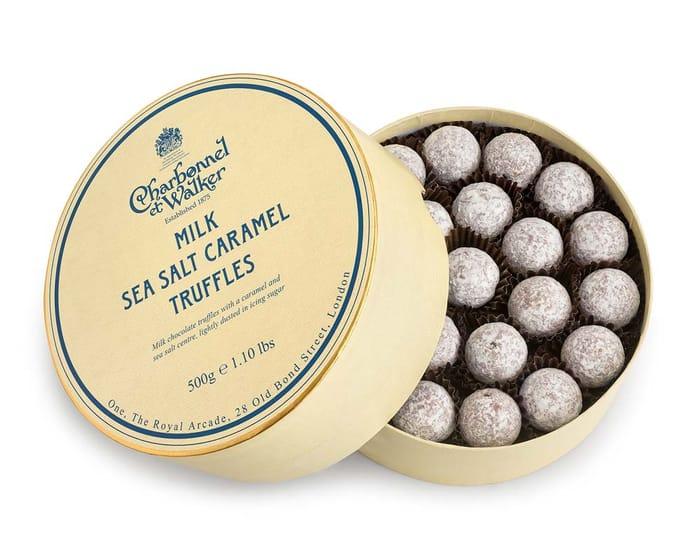 Milk Sea Salt Caramel Chocolate Truffles 500g