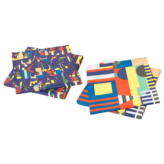 Ikea Paper Napkin, Assorted Patterns