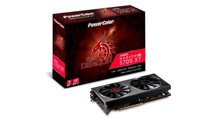 PowerColor Radeon RX 5700 XT 8GB Red Dragon Graphics Card