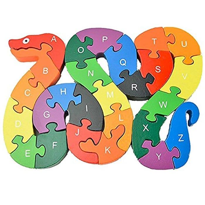 Alphabet Puzzle Snake