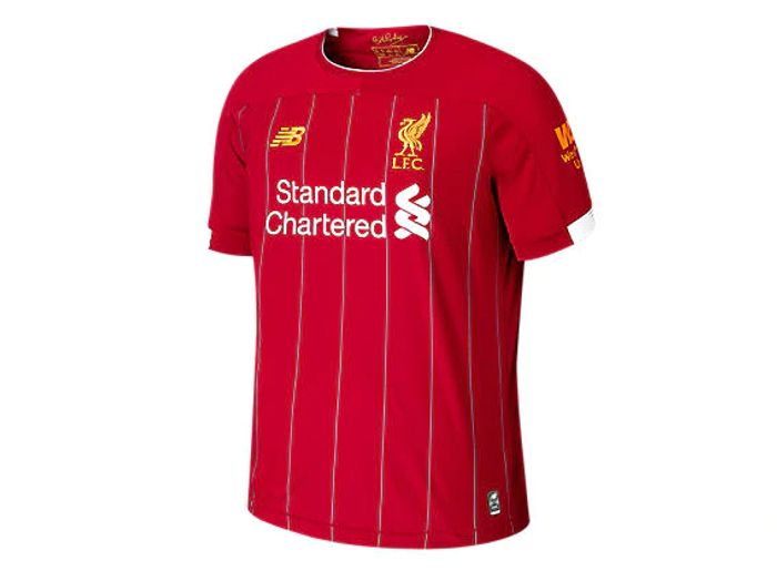 Liverpool FC Home Short Sleeve Jersey No EPL Patch
