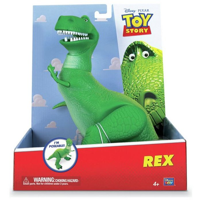 Cheap Disney Toy Story Rex Figure Only £13