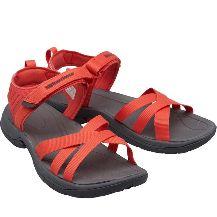 *SAVE £60* Karrimor Womens Ballena Strappy Webbing Sandals Coral Sizes 3>8
