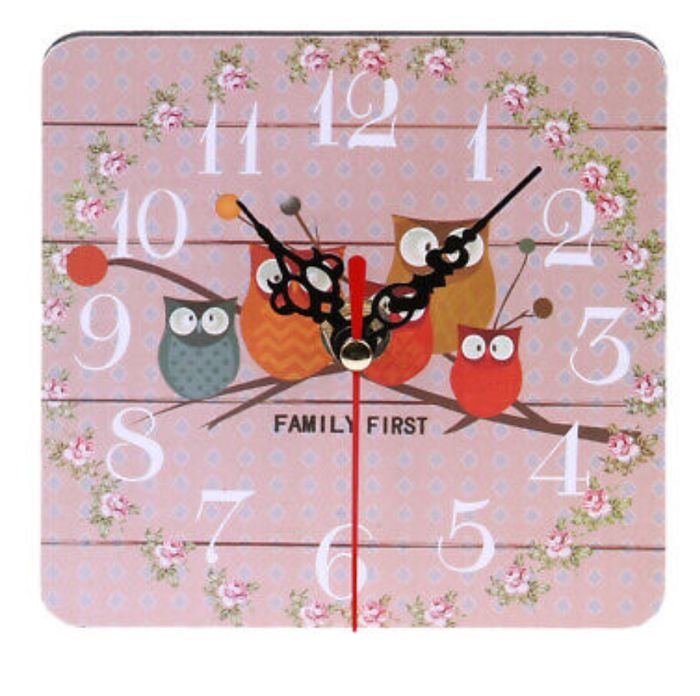 Vintage Wooden Wall Clock Large - Only £3.69!