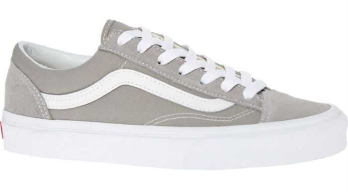 VANS Grey Textile & Suede Trainers - Only £29.99!