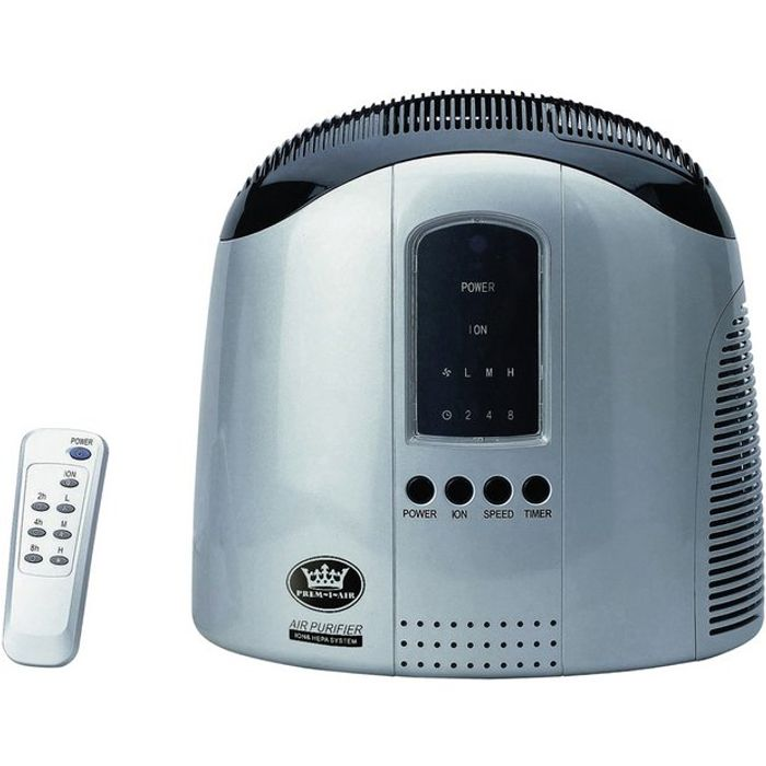 HEPA Air Purifier with Ioniser and Remote Control - Save £22.00