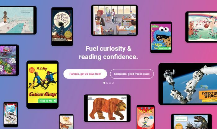 40,000 E-Books for Kids - Free 30-Day Trial at Epic