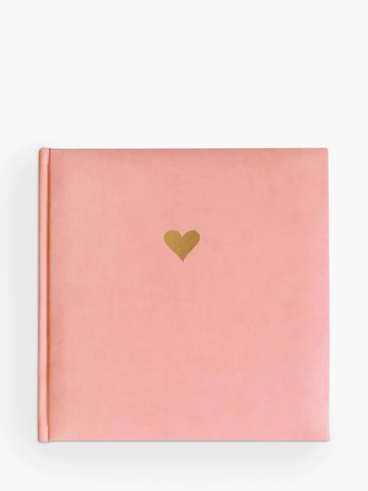 Sky + Miller Heart Photo Album