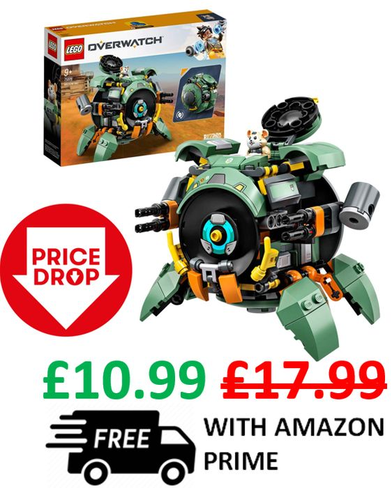 PRICE DROP! LEGO Overwatch - Wrecking Ball (75976)