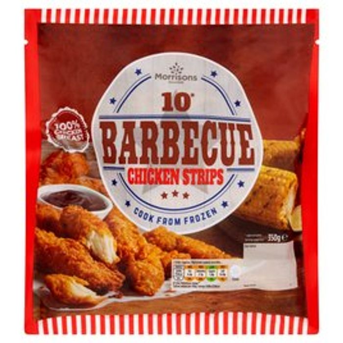 Morrisons BBQ Coated Chicken Strips 350g