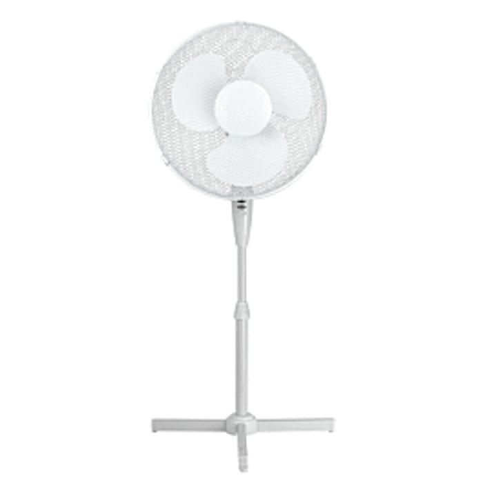 """16"""" Standing Fan - White"""
