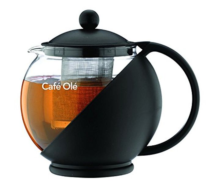 Caf Ole Everyday round Tea Pot Infuser