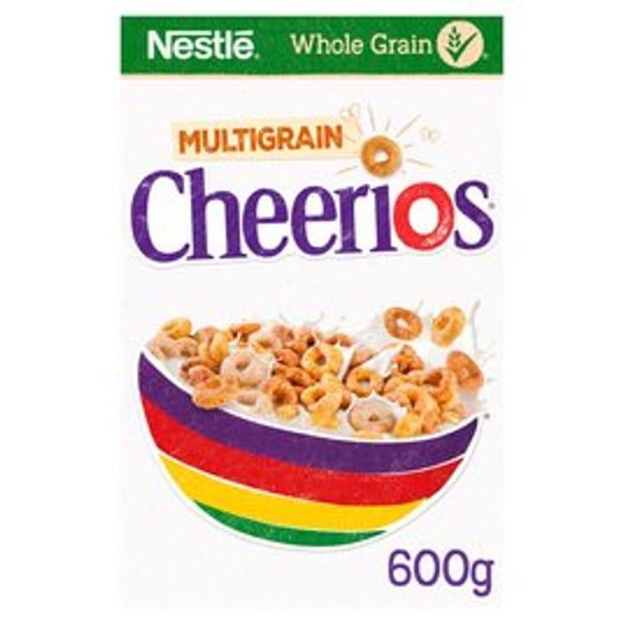Nestle Cheerios Multigrain Cereal 600g