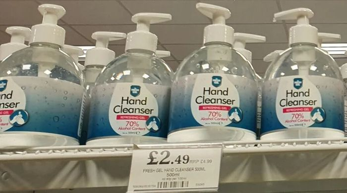 Fresh Gel Hand Sanitizer 500ml - 70% Alcohol Content