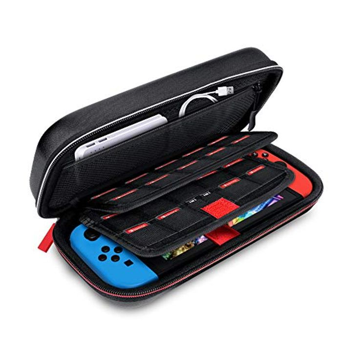 Deluxe Carrying Case Compatible for Nintendo Switch and Accessories