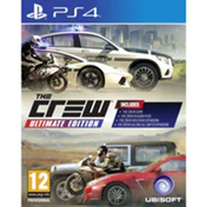 PS4 the Crew Ultimate Edition £11.49 at 365Games
