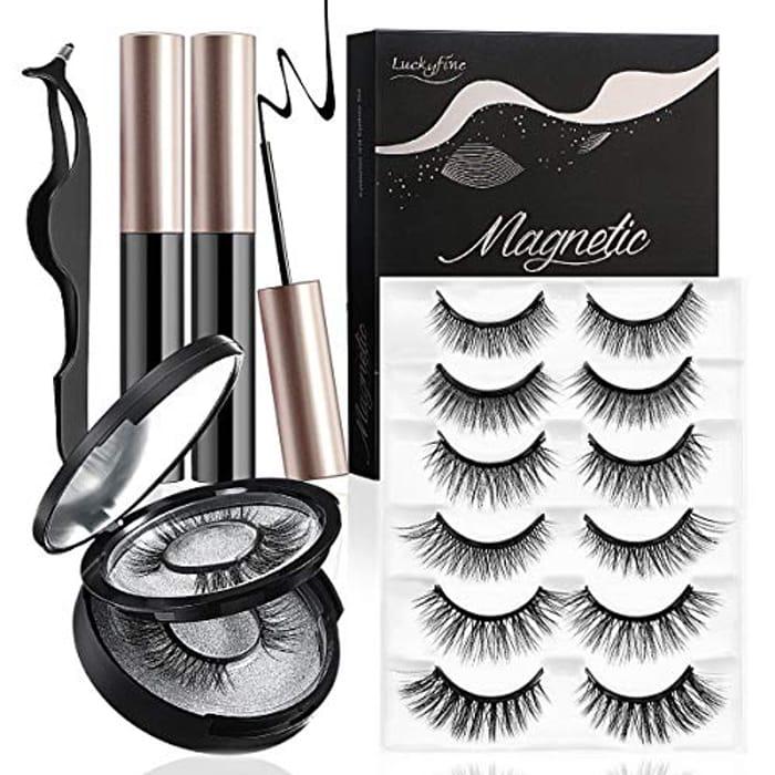 46% off Magnetic Eyeliner & Eyelash Kit