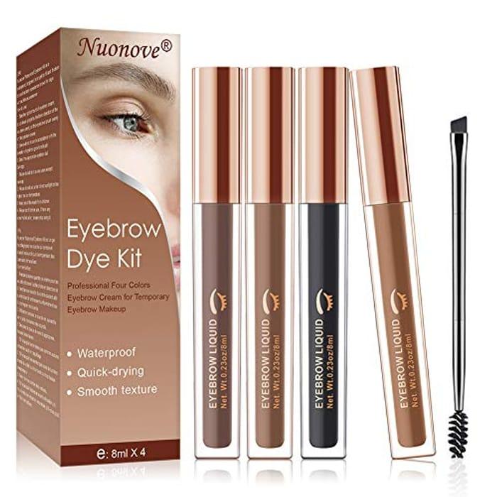 Nuonove Eyebrow Dye Kit, Eyebrow Tint, Eyebrow Dye,