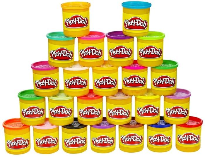 Hasbro Playdoh Tubs, Pack of 24