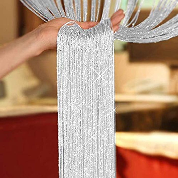 Glitter String Door Curtains Panel, Fly Screen