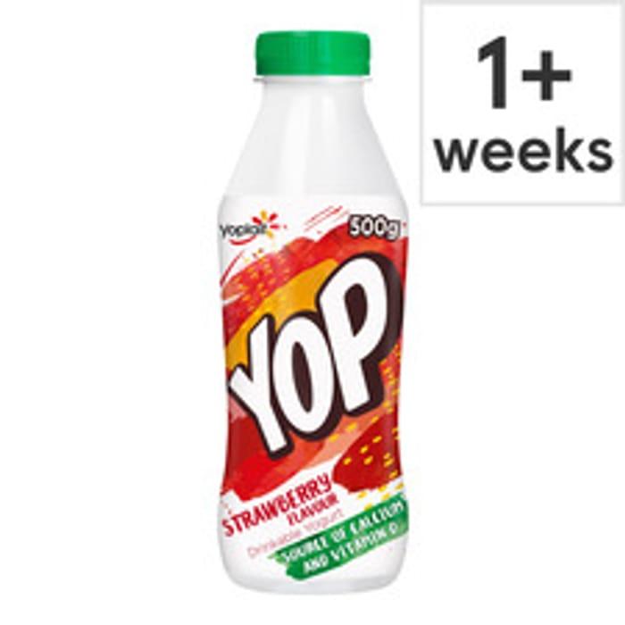 Yop Drinking Yogurt 500g - Half Price Was £1.00 Now 50p!