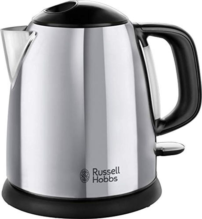 Russell Hobbs 24990 Small Electric Kettle 1 Litre Fast Boil Cordless Only £14.96