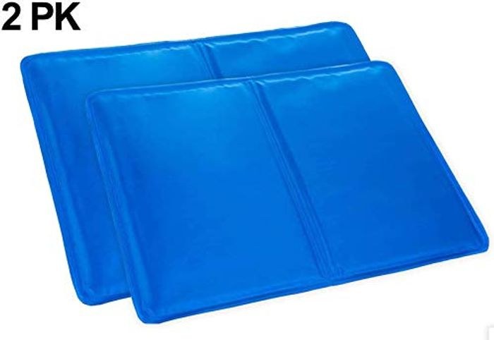 KEPLIN 2X Cooling Gel Pillows LARGE - Improving Sleep, Flu & Fevers, Headaches