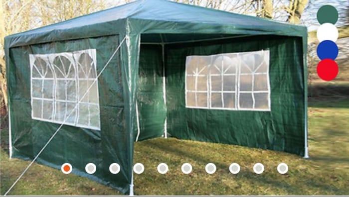 Airwave 3m X 3m Party Tent - 4 Colours