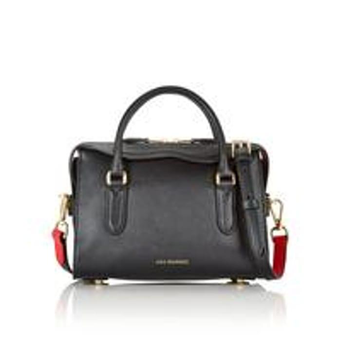 Lulu GuinnessDylan Peekaboo Lip Cross-Body Bag - Black