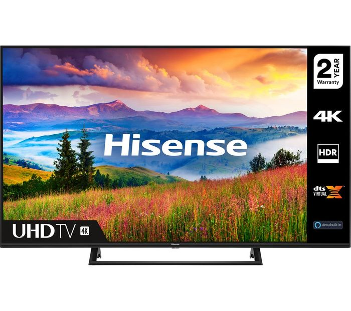 "*SAVE £150* HISENSE 55"" Smart 4K Ultra HD HDR LED TV with Amazon Alexa"