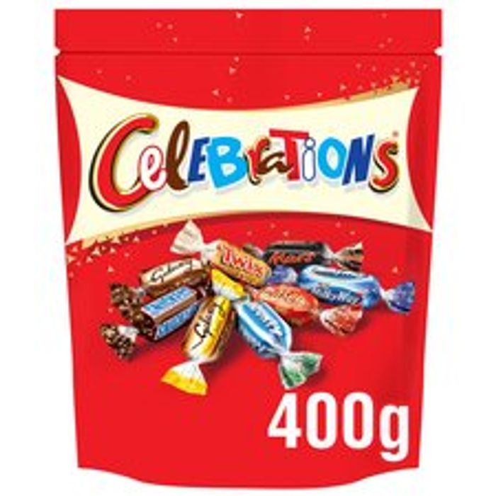 Celebrations Pouch 400G / Quality Street 435G / Cadbury Roses 357G / Heroes 357G