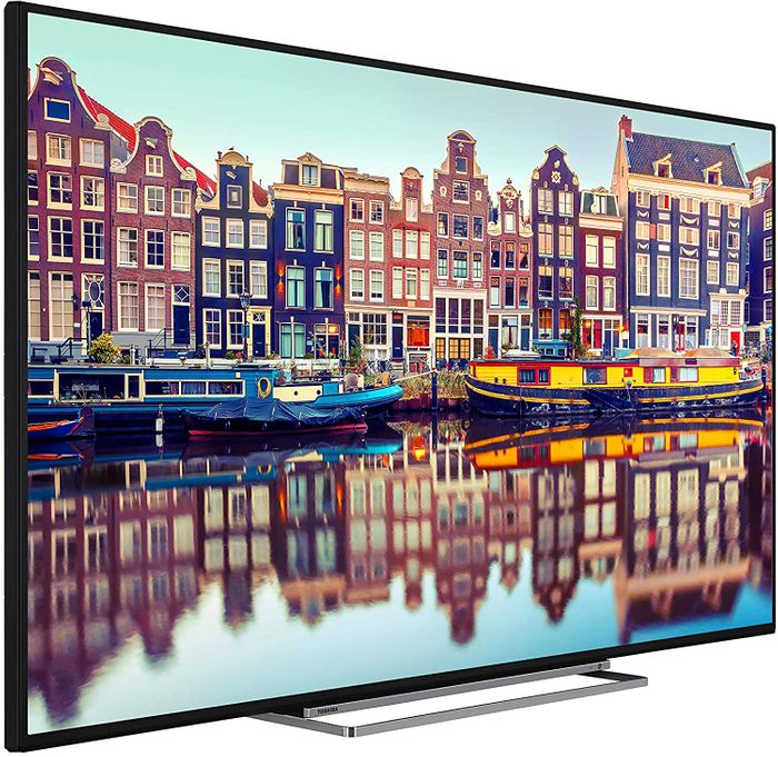 *SAVE over £25* Toshiba 55-Inch Smart 4K Ultra HD HDR LED TV (2020 Model)
