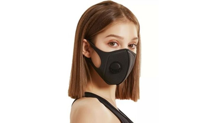 Up to Ten Face Masks with Breathing Valve