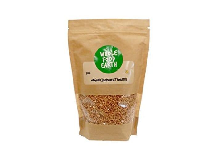 Wholefood Earth Organic Roasted Buckwheat, 1 Kg