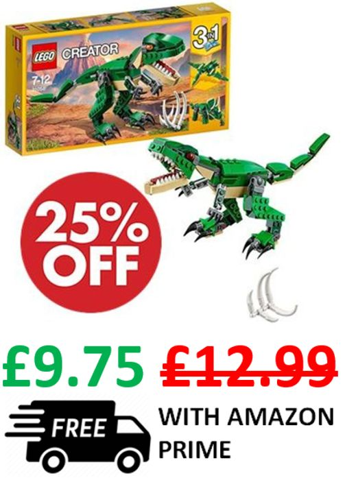 LEGO CREATOR - Mighty Dinosaurs - 3-in-1