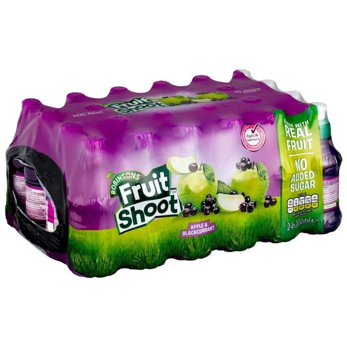 Robinsons Fruit Shoot Apple & Blackcurrant 24 X 200ml