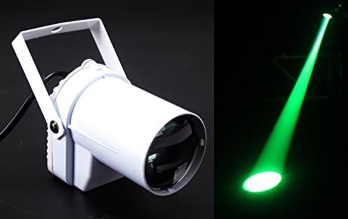 Led Pinspot,3w Green Led Spot Light