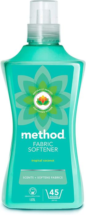 Method Tropical Coconut Fabric Softener, 45 Wash at Amazon