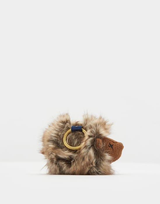 Joules Knitted Hedgehog Keyring - Save £5