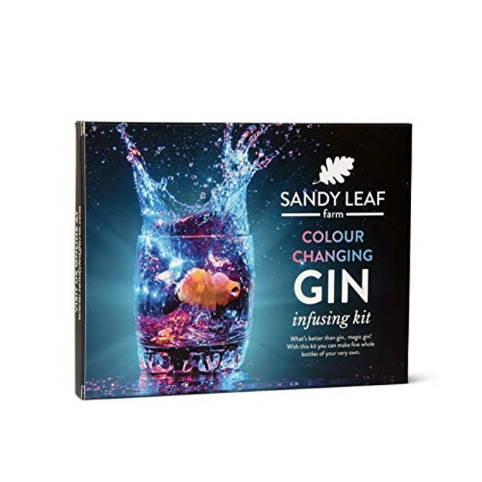 Colour Changing Gin Infusing Kit at Amazon