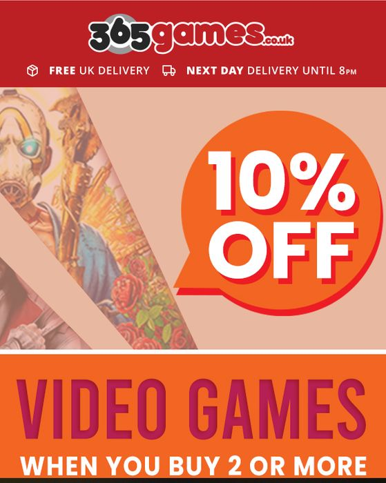 10% off When You Buy 2 or More Games