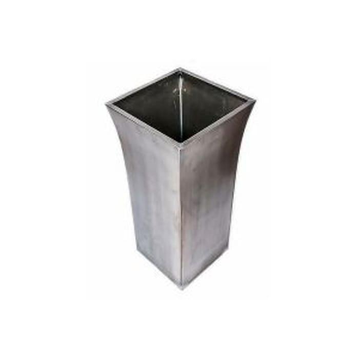 Galavanised Zinc Titanium Planter - Medium