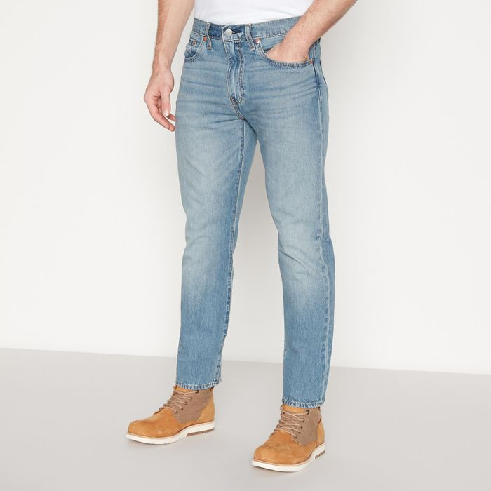 Levi's - Light Blue Light Wash '502 English Channel' Tapered Fit Jeans 34R