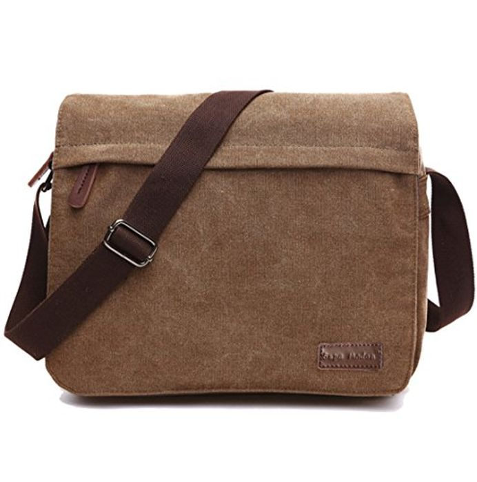 Price Drop! SUPA MODERN Canvas Messenger Bag for £6.99 Only