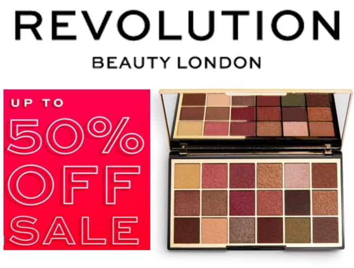 Revolution Beauty Sale - LOTS OF HALF PRICE DEALS