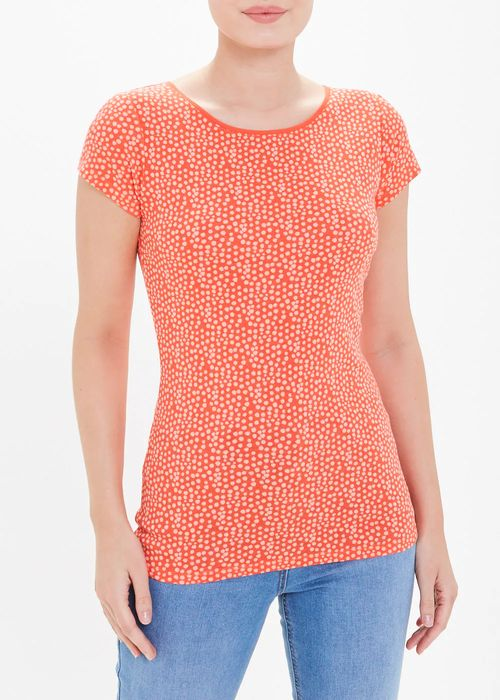 Short Sleeve Dotted T-Shirt