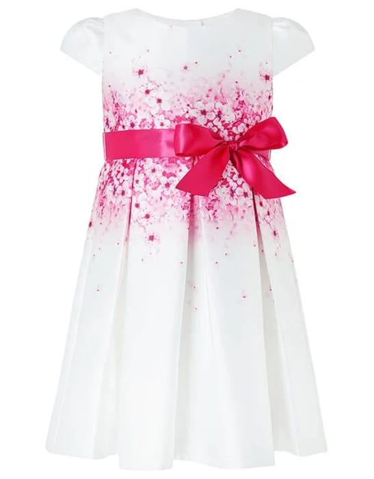 Baby Sakura Blossom Ivory Dress Natural