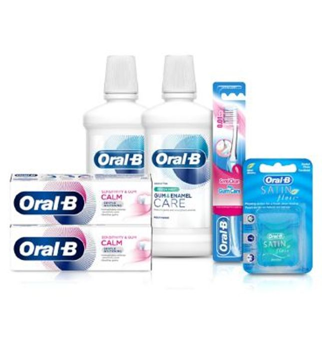 Oral-B 2 Month Sensitivity & Gum Calm Bundle