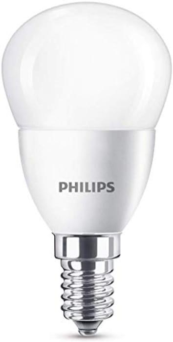 Philips LED E14 Small Edison Screw Mini Globe Light Bulb Only £1