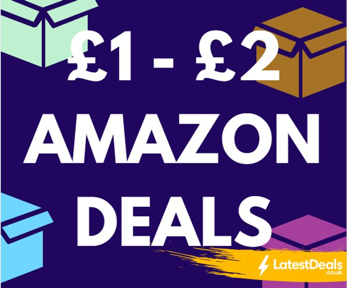 20 Amazon Prime Bargains £2 Or Less!